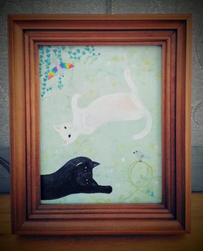 """peace,peace"" ©Ukyo SAITO 斎藤雨梟"