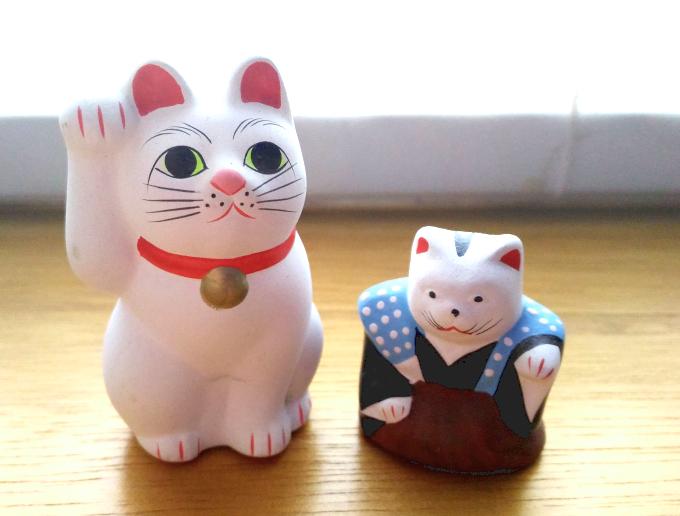豪徳寺と住吉大社の招き猫